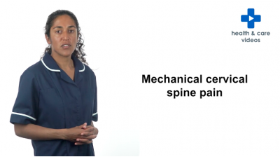 Mechanical Cervical Spine Pain Thumbnail