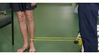 Adductor in standing with band Thumbnail