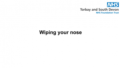 Wiping your nose Thumbnail