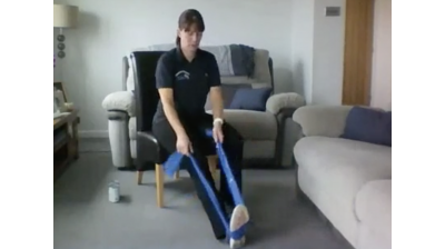 Facebook Live - Seated Exercise with Elaine (Introducing Resistance Bands) Thumbnail