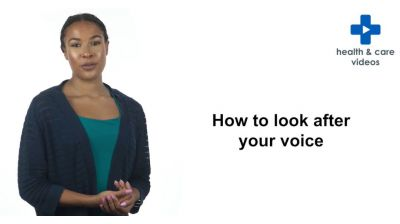 How to look after your voice Thumbnail