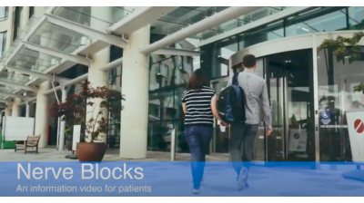 Nerve Blocks: An Information Video For Patients Thumbnail