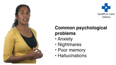 Common psychological problems after a Critical Care admission Thumbnail