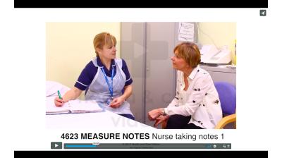 Measure Notes - Nurse taking notes Thumbnail