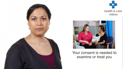 Giving consent to treatment - a guide for adults Thumbnail