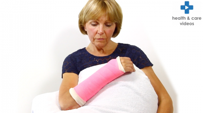 How to prevent a pressure ulcer when you have a cast Thumbnail