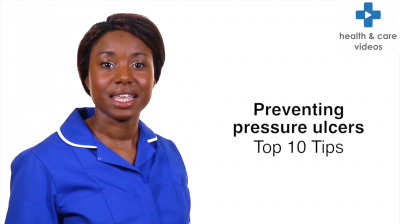 Preventing pressure ulcers - Top ten tips Thumbnail