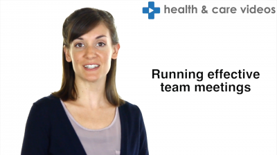 Running effective team meetings Thumbnail