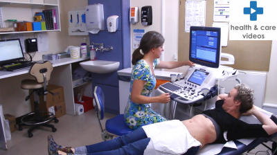 Having a Trans-Vaginal Ultrasound scan Thumbnail