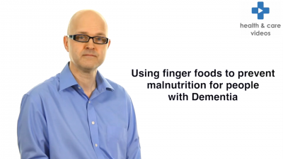 Using finger foods to prevent malnutrition for people with Dementia Thumbnail