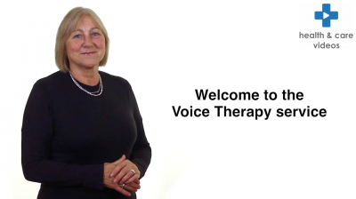 Welcome to the Voice Therapy Service Thumbnail