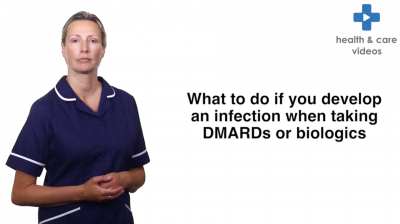 What to do if you develop an infection when taking DMARDs or biologics Thumbnail