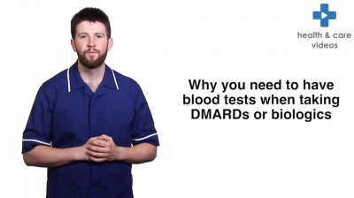 Why you need to have blood tests when taking DMARDs or biologics Thumbnail